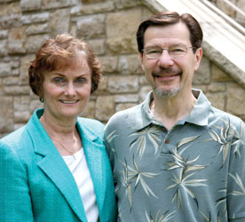 Sheryl Atkinson Stoll '70 and William Stoll. (Photo by Blake Rasmussen '05)