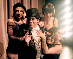 "Cornell's nationally recognized theatre department put on ""Cabaret"" in the spring of 2009. (Photo courtesy of Cornell Theatre Department)"
