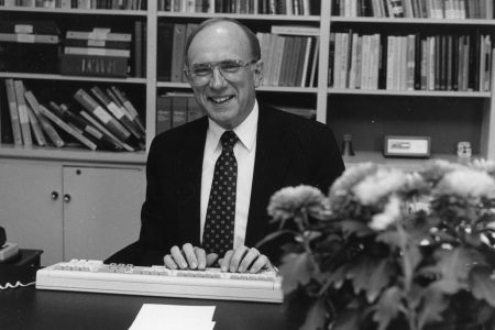 During David Marker's presidency, Cornell prepared to become a wired campus and every faculty member was given an office computer.