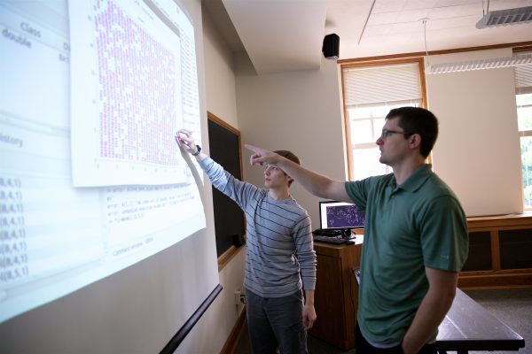 Three students are tasked with producing individual projects with a similar theme for the Cornell Summer Research Institute. That theme is Cellular Automata.