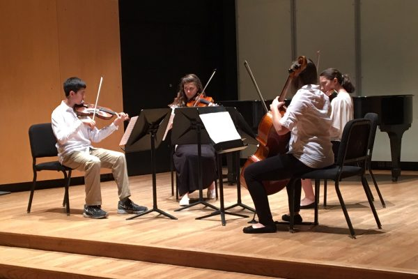 Talented young string musicians gathered on the Hilltop last week for a whirlwind week of playing music and learning from some of the best local chamber musicians.