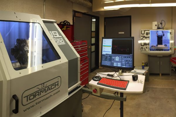 Students taking engineering courses can expect to see some shiny, new equipment when they start off the 2016-2017 school year.