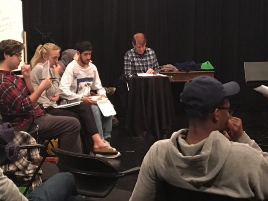 Students get screenwriting opportunity with visiting professor