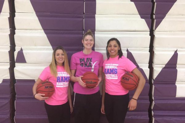 The Cornell College women's basketball team will not only play for the win against Knox College on Feb. 4, they'll Play4Kay.