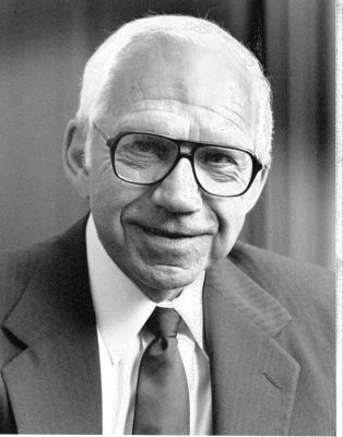 Leo Beranek, a 1936 graduate of Cornell College and recipient of the 2002 National Medal of Science.