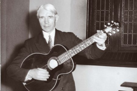 Carl Sandburg at Cornell College
