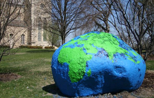The Rock celebrates Earth Day 2009.