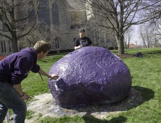 The Rock is a communications vehicle that has worn countless coats of paint and thousands of messages.