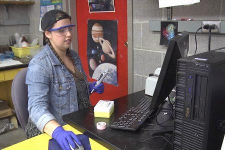 Rebecca Ritter studies bat DNA