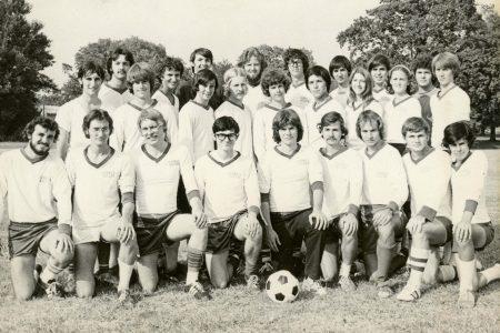 76-77 Coed soccer team