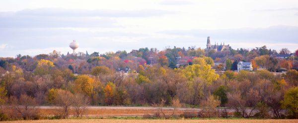 Cornell skyline