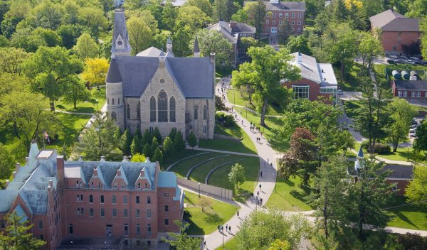 Aerial of Cornell