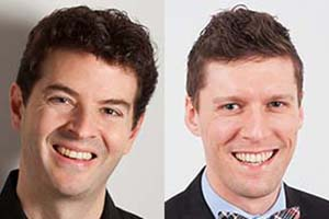 Baritone Andrew Whitfield and pianist Nicholas Shaneyfelt.