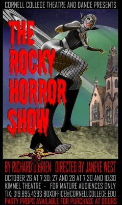 Poster for Rocky Horror Show