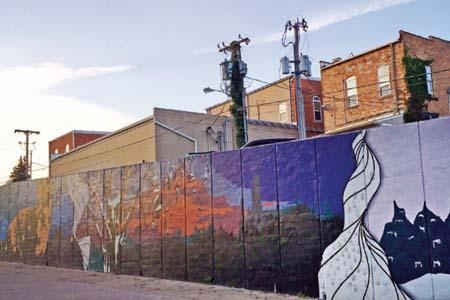 Mount Vernon mural