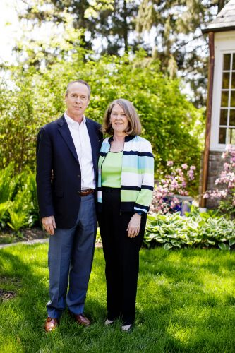 "John McGrane '73 and Martha ""Marty"" Benson McGrane '73"