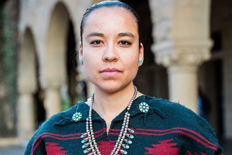 Lyla June will share her thoughts on Standing Rock and other Native American issues during her lecture on the Cornell College campus on Wednesday, Nov. 8.