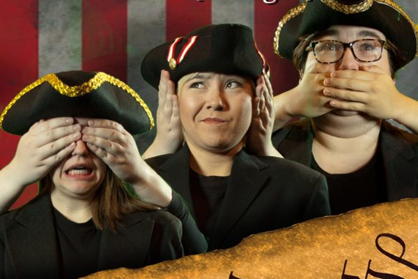 "The Cornell College Department of Theatre and Dance invites audiences to the knock-about comedy ""The Complete History of America [Abridged],"" opening Dec. 14 in the Plumb-Flemming Black Box Theatre in Armstrong Hall."