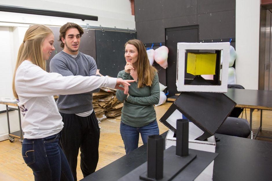 3-D Model Art Class
