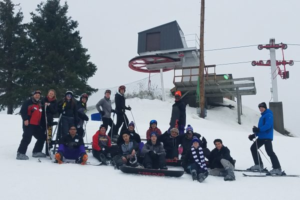 One student organization gives all students the opportunity to experience everything the Midwest has to offer by organizing trips off campus to hit the ski slopes.