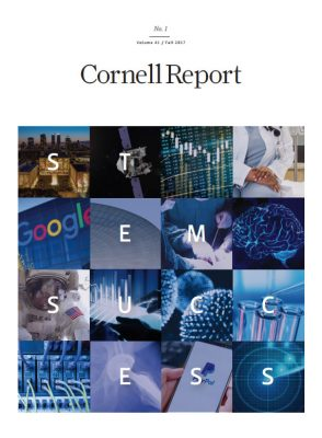 Fall 2017 Cornell Report cover