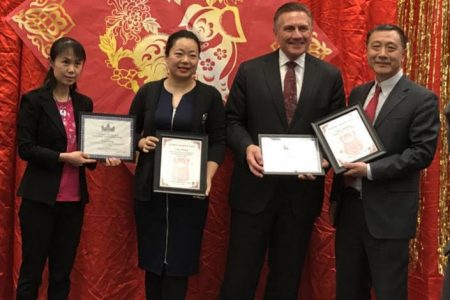 The Chinese Association of Iowa has selected Associate Director of Admission Ling Zhang as an honoree for its 2016 Iowa Chinese Achievement Awards.