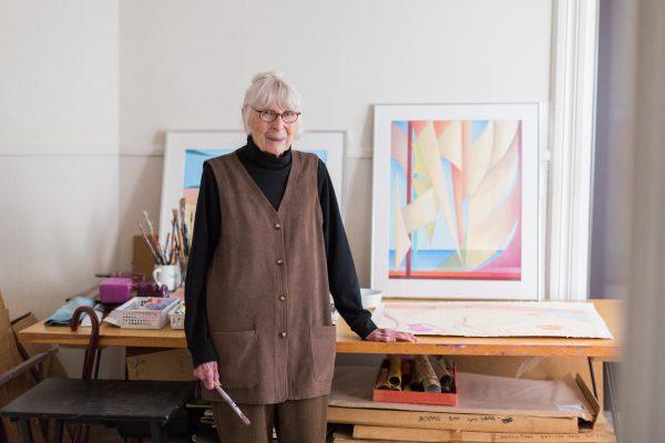 Vivian Heywood, professor emeritus of art, died April 23, 2019, in Mount Vernon, Iowa, at the age of 96.