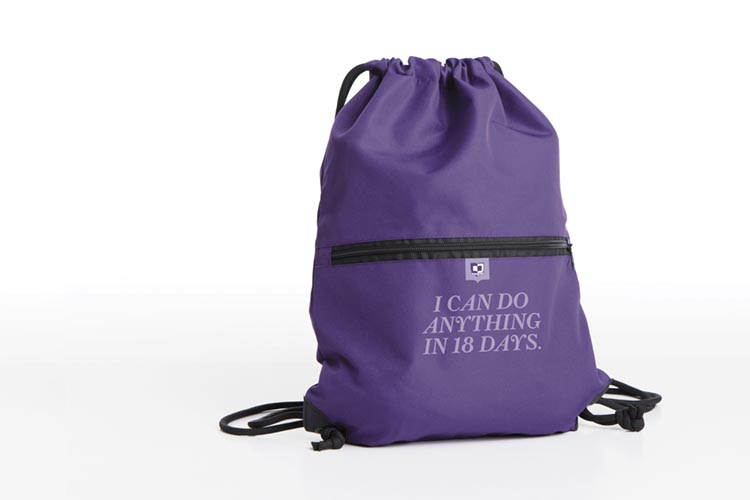 I can do anything in 18 days backpack