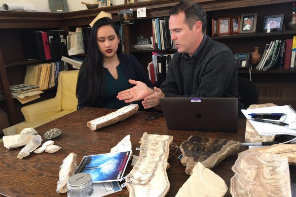 The National Science Foundation has awarded Professor of Geology Rhawn Denniston a grant in the amount of $51,645 to examine how prehistoric fire activity may be recorded by stalagmites.