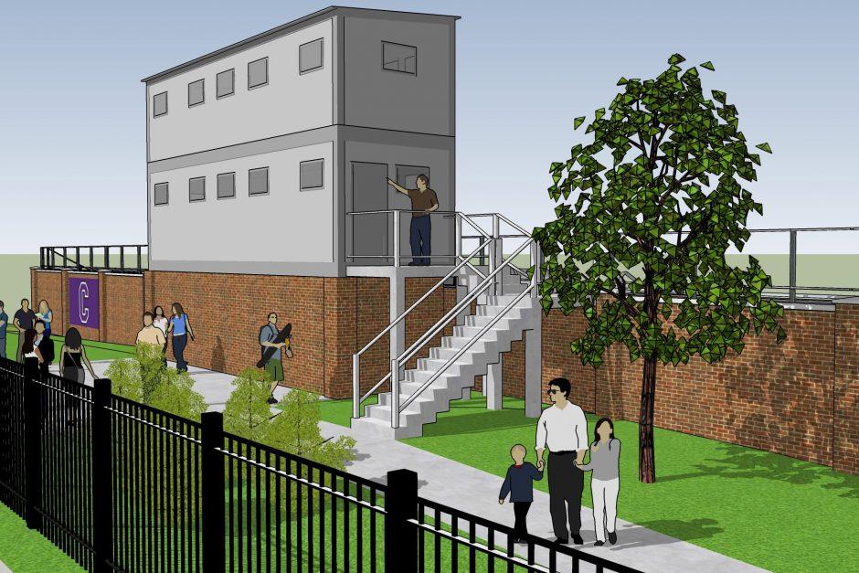 Ash Park Stadium rendering