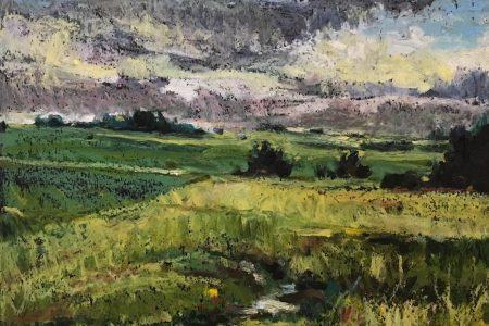 Abbe Creek Before Rain, 2017; Sue Coleman