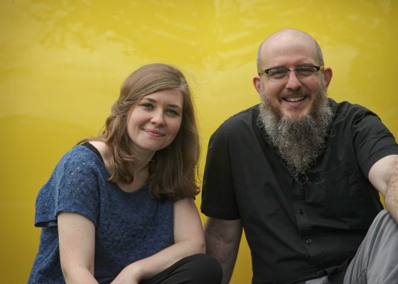 """Wayfaring, a duo that takes its name from the beloved American folk song """"Poor Wayfaring Stranger,"""" appears in Mount Vernon Oct. 1 to open Cornell's 2018–2019 Music Mondays season."""