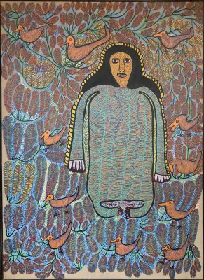 """Untitled"" by Prosper Pierre-Louis, Haiti. paint on canvas. no date."