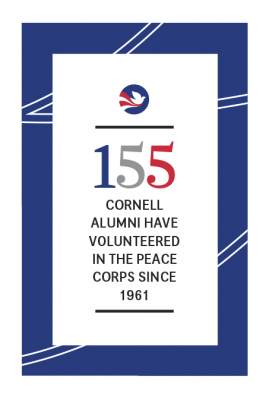 155 Cornellians have served in the Peace Corps