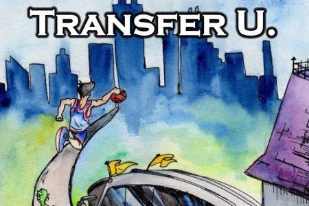 """""""Transfer U."""" Book Cover"""