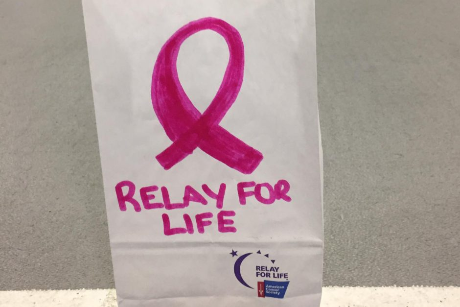 luminaria from Relay For Life 2017