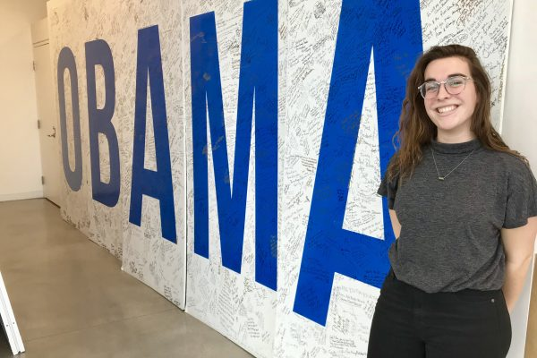 Lizzie Mombello '19 has accepted a new challenge this semester as a Cornell Fellow with the Obama Foundation in Chicago.