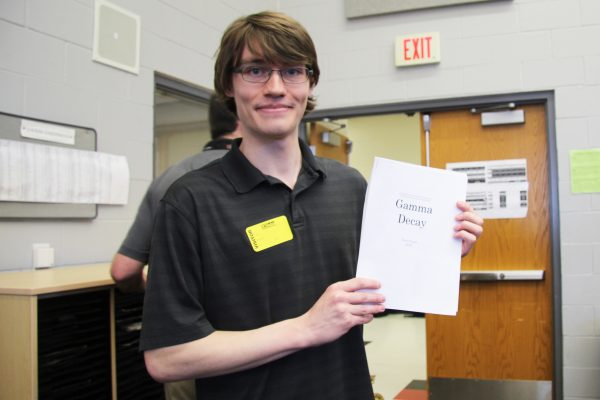 Cornell College's Tray Guess '20 writes his first commissioned piece for Linn-Mar High School's Concert Band.