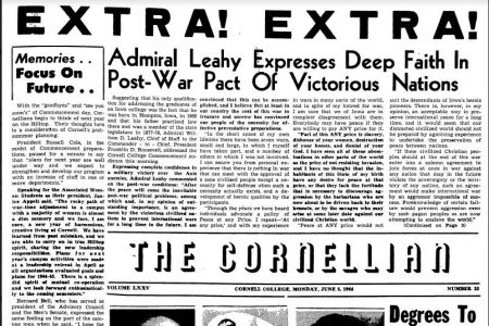 June 5, 1944 issue of the Cornellian