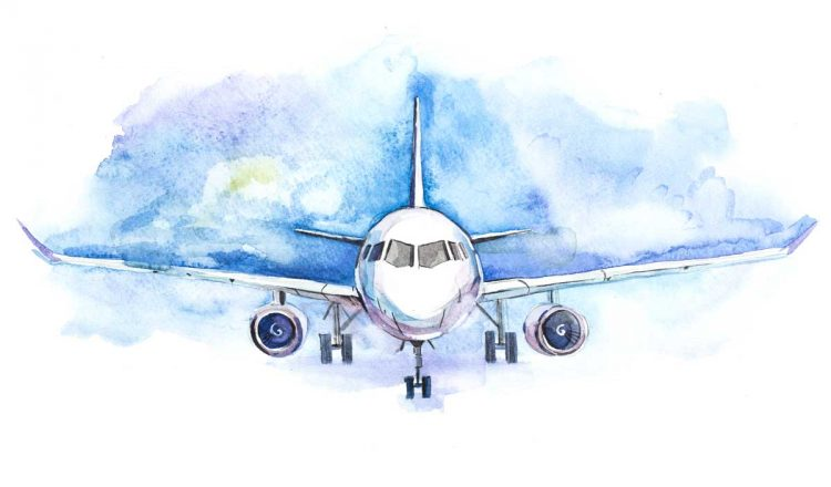 Airplane-illustration-Shutterstock