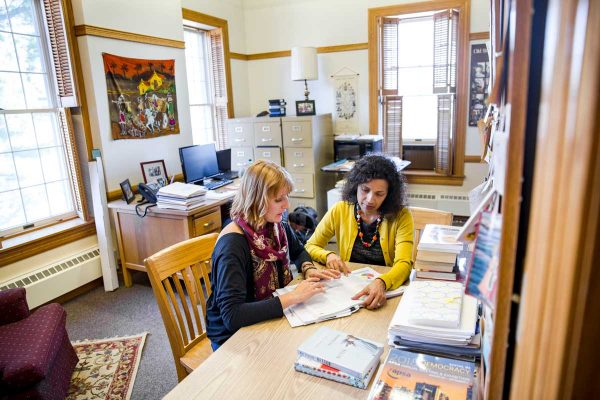 We follow Professor Aparna Thomas on campus for one day.