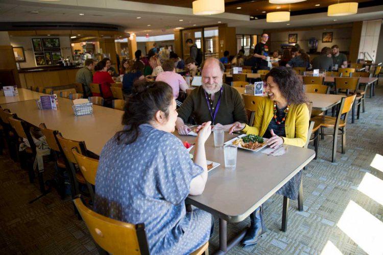 Aparna Thomas at lunch