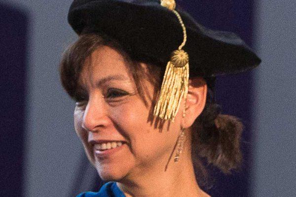 Emerita citation for Marcela Ochoa-Shivapour, professor of Spanish, 1999-2019.
