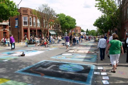 Mount Vernon's Chalk the Walk Festival.