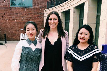 Xinyi Li, Taylor Axelson '19, Yuzhe Zheng (Scott Gasik not pictured)