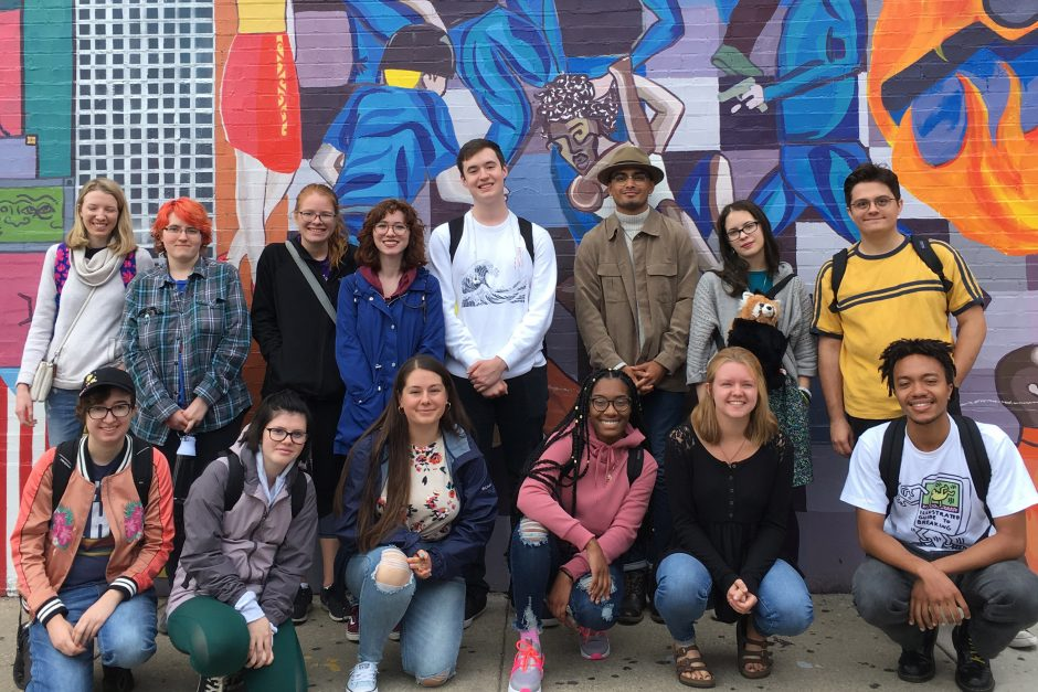 Literature and Social Justice class with Randy Santiago '18