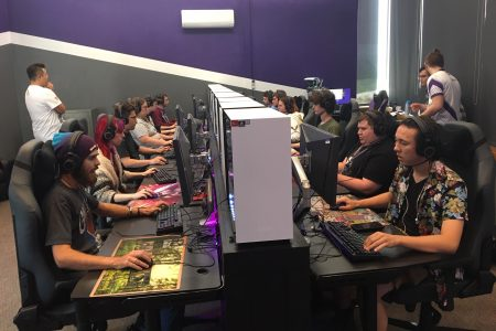 students gaming