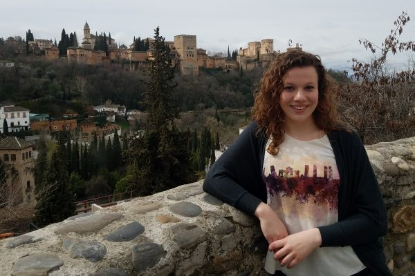 Knowing how to speak Spanish has opened doors for Gabie Campbell ՚18.