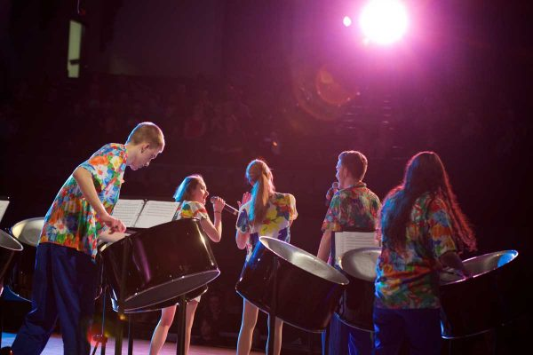 Get into the Mardi Gras spirit with the warm Caribbean sounds of the Cornell College Steel Drum Ensembles at 4 p.m. Saturday, Feb. 22, in King Chapel.