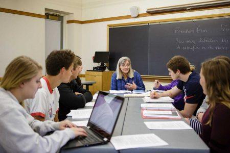Jill-Heinrich in class